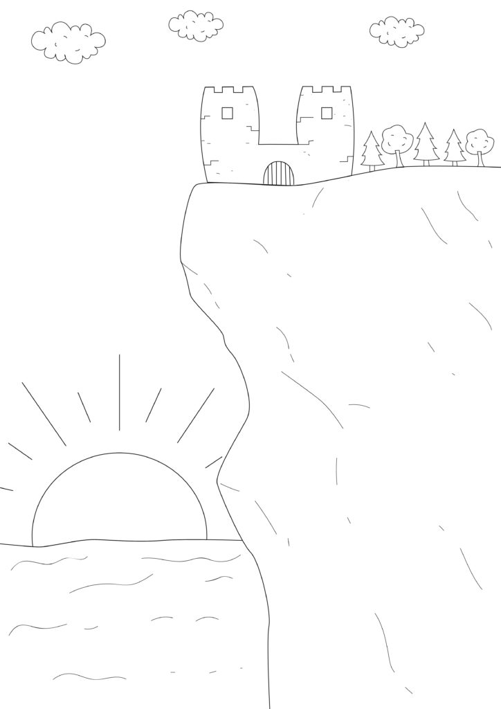 """Episode 8 """"Cedar Landing"""" Coloring Page"""