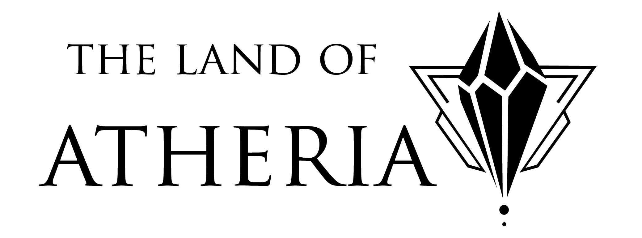 Logo for The Land of Atheria